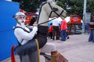 דון קישוט על הסוס