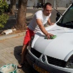 שטיפת המכונית בצורה חסכונית